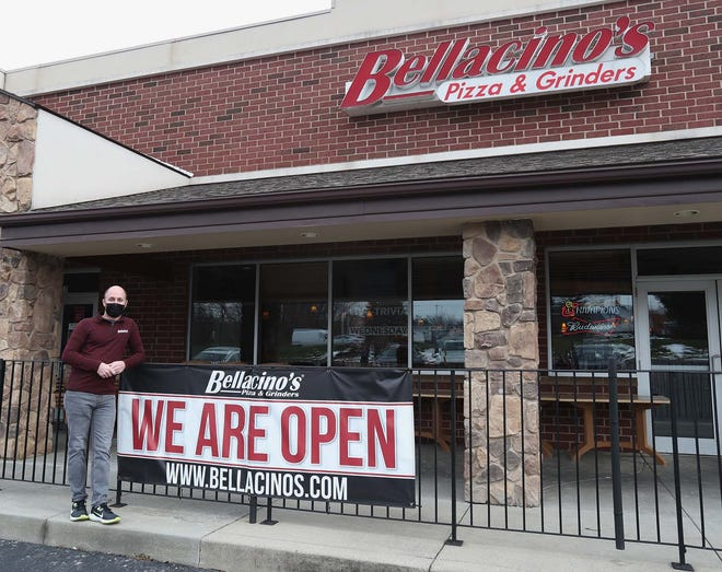 Dave Segen, the owner of Bellacino's, is participating in Stow's February restaurant promotion that aims to help restaurants who are struggling due to COVID-19.