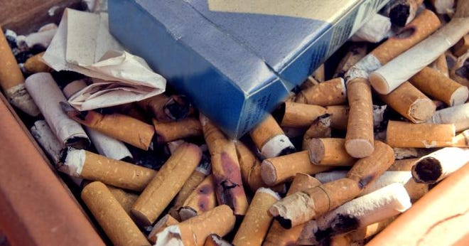 COVID-19 has killed more than 400,000 Americans in the first year of the pandemic but smoking kills more than that each year, the American Lung Association said.