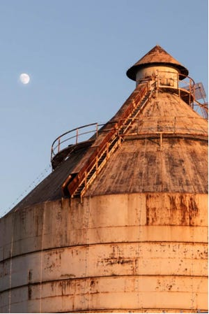 """Brownwood High School photography student Niko Martin's photo """"Silo Scape"""" earned honorable mention in the Association of Texas Photography Instructors contest."""