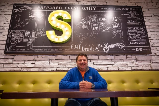 Clermont resident Darren Johnson and his business partners opened The Southern on 8th restaurant in December after bookings for his corporate hospitality business were canceled because of the pandemic.