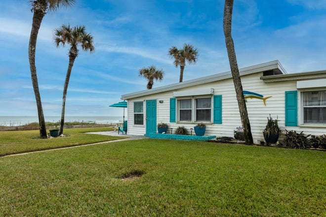 This direct oceanfront Ormond Beach home has a rare B-8 zoning that allows for short-term rentals.