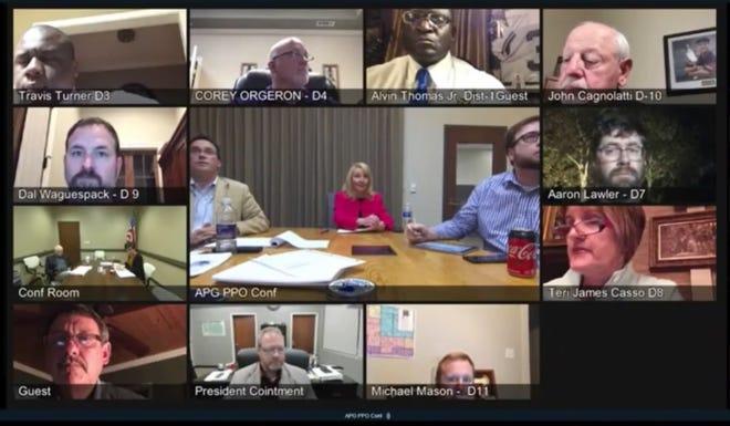 The Ascension Parish Council held its regular meeting via teleconference Jan. 21.