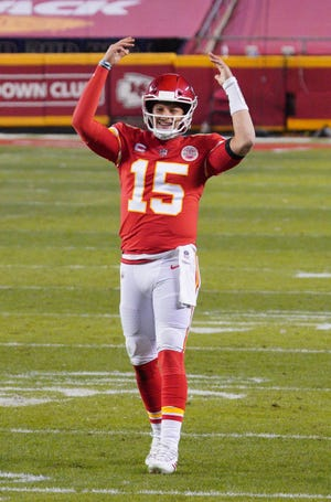 Quarterback Patrick Mahomes and the Kansas City Chiefs will get a rematch of last year's AFC Championship game against the Buffalo Bills in Week 5.