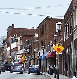 A more recent view of Main Street in Gardner.