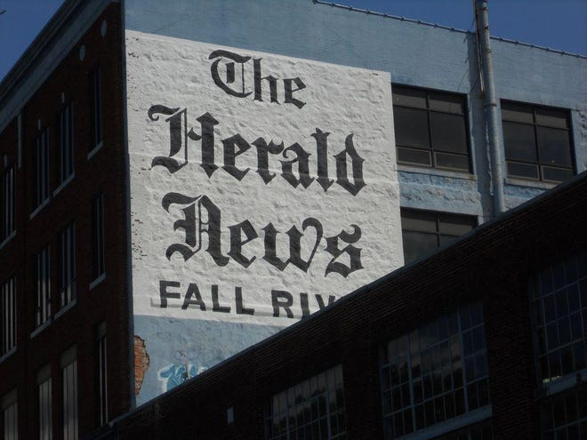 A picture of the old Herald News Building in Fall River.