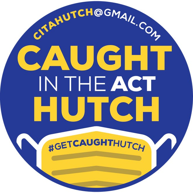 Caught in the Act Hutch logo