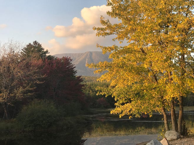Mt. Katahdin, the northern terminus of the Appalachian Trail, attracts outdoors adventurers to interior Maine. [Daily News file photo/Rick Holmes]