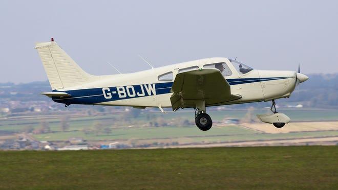 A Piper-28-161 aircraft.