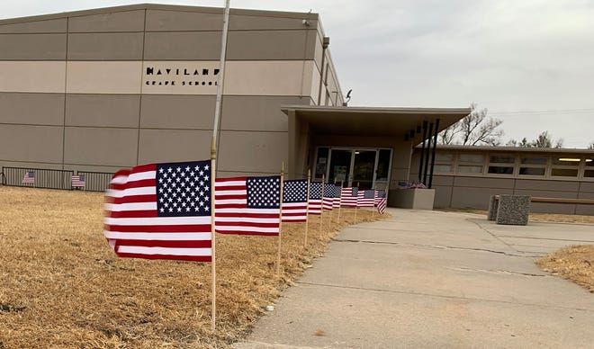 A tranfer of territory is set to take place, combining Haviland Grade School with Kiowa County Schools into one district as USD 422 in 2021. Haviland Superintendent Mark Clodfelter has been hired to lead the USD 422 district following current superintendent Staci Derstein's retirement, whose resignation was accepted in December 2020.