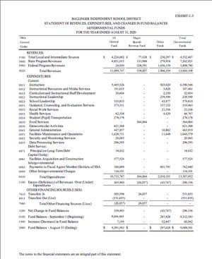 BISD Annual Audit