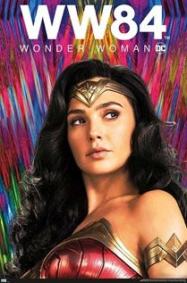 """Wonder Woman 1984"" will be showing at the Story Theater on Friday, Saturday and Sunday."