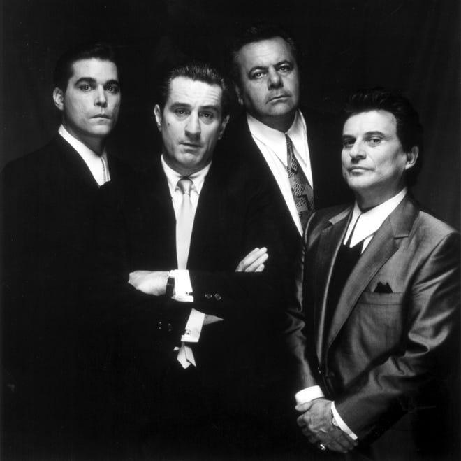 "Ray Liotta, Robert De Niro, Paul Sorvino and Joe Pesci of the movie ""Goodfellas.''"