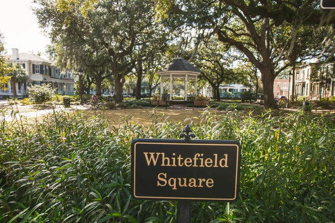 Whitefield Square is named for Reverend George Whitefield.