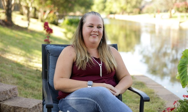 Lacey Buettner serves as a foster parent with the help of CPN's FireLodge Children & Family Services