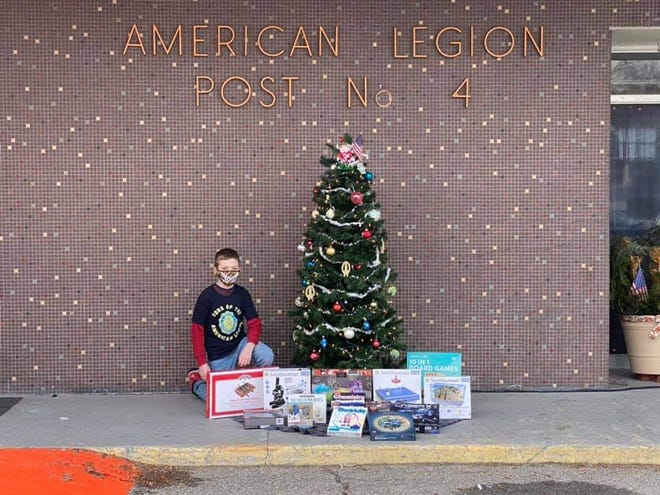 """Silas Kovalik, a 10-year-old from Norwich, rummaged through his bedroom closet looking for toys to give away to children who """"might not have anything to open on Christmas."""" The 10-year-old found 16 unopened, science-related toys, games and puzzles to share with families who were struggling during the holidays amid the coronavirus pandemic."""