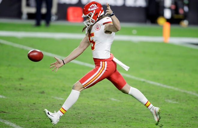 Kansas City Chiefs punter Tommy Townsend played his college ball at Florida.