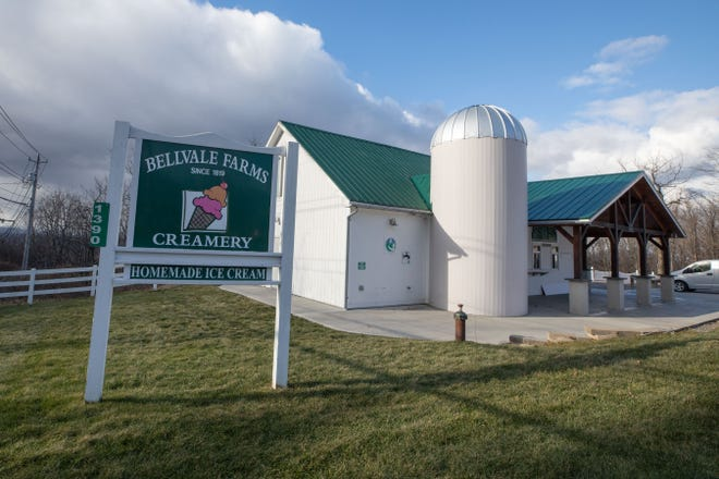 Bellvale Farms Creamery in Warwick, NY, on January 20, 2021.