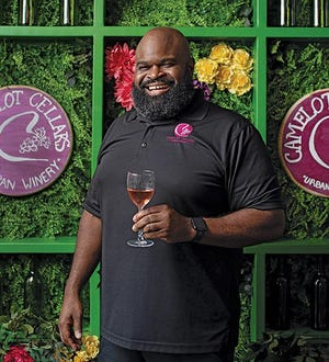 Renard Green owns Camelot Cellars Urban Winery, 901 Oak St. in Columbus' Olde Towne East neighborhood.
