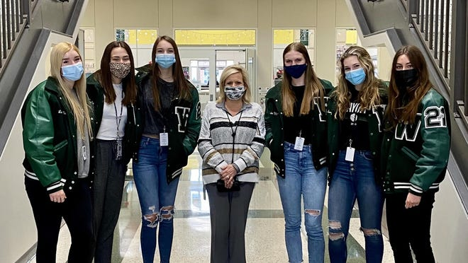 Waxahachie High School's volleyball team had six athletes named to the Texas Girls Coaches Association's Academic All-State Team last week. Seniors Linzie McCloud, Katy Jenkins, Emma Smithey, Kate Morgan, Avery Long and Allison O'Donnell were cited by the TGCA for their accomplishment in the classroom and on the court.