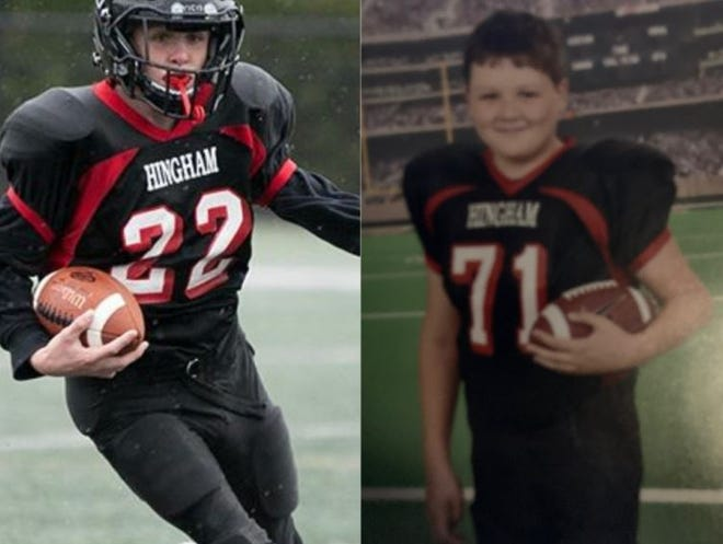 The community is rallying behind Mason, left, and Liam Lennon, brothers and Hingham natives who have lost both their parents within the past four year.