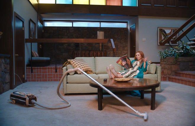 "Elizabeth Olsen as Wanda Maximoff in Marvel Studios' ""WandaVision,"" exclusively on Disney+."