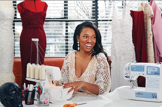 St. Ursula Academy graduate and 'Project Runway' alum Asha Ama Bias-Daniels is the Taft Museum of Art's 2021 Duncanson artist-in-residence.