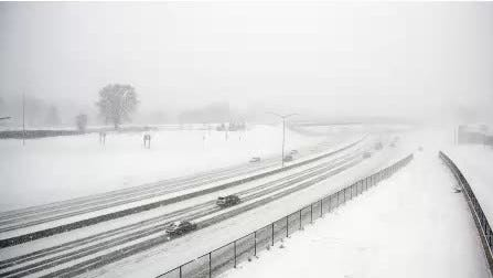 Winter weather hits Iowa, Chicago, Midwest