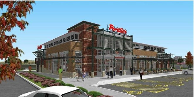 Portillo's Sterling Heights rendering.