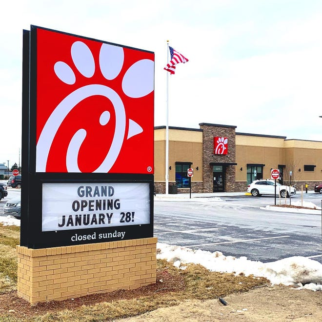 Chick-fil-A opens Thursday in Shelby Township.