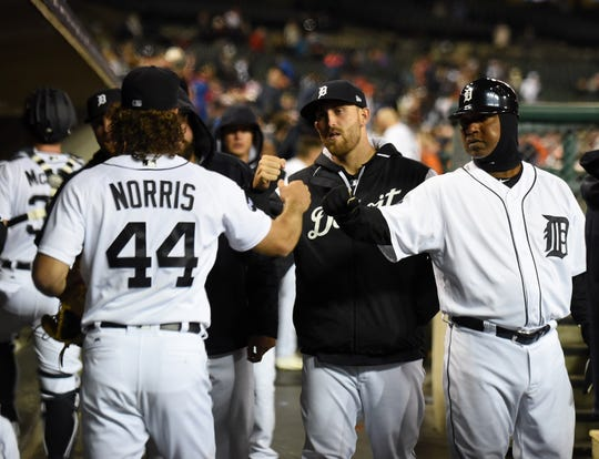 Pitchers Daniel Norris (44) and Matthew Boyd have been with the Tigers since 2015.