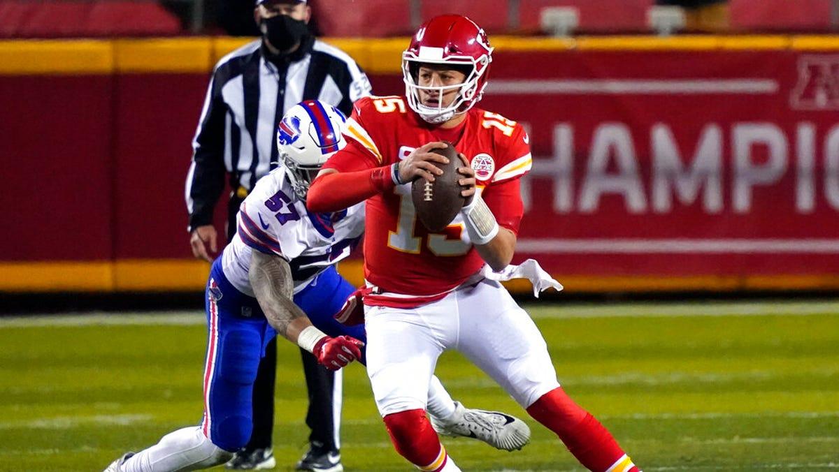Reigning champion Chiefs dump Bills 38-24 in AFC title game 2