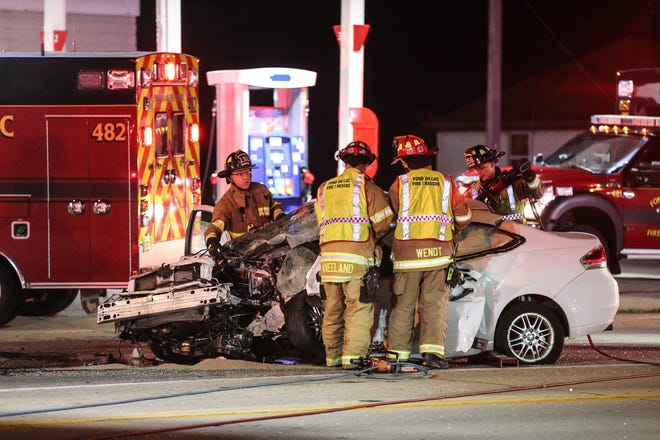A 21-year-old Fond du Lac man who was a passenger in a car that collided with an ambulance on Sept. 15 in the city of Fond du Lac was killed in the crash that happened at the intersection of Main and Johnson Streets.