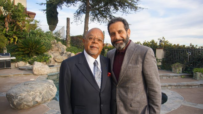 """Green Bay native Tony Shalhoub, right, taped an episode of """"Finding Your Roots with Henry Louis Gates Jr."""" that will air Feb. 9 as part of Season 7 of the PBS show."""