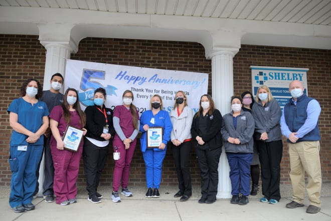 Third Street Family Health Services' Shelby office celebrated its 5-year anniversary Monday.