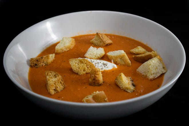 Tomato bisque will be one of the first soups sold by the new South Side Soup, a sister business to Iron Grate BBQ Co., 4125 S. Howell Ave.
