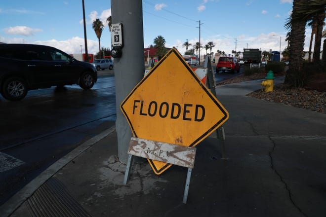 The flood watch issued by the National Weather Service will be in effect from 11 a.m. to 10 p.m. Tuesday.