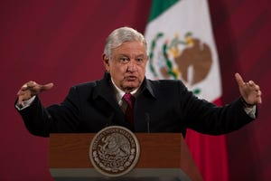 On Jan. 24, 2021, Mexican President Andrés Manuel López Obrador said on Twitter he tested positive for COVID-19 and is under medical treatment.