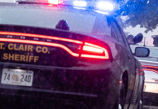 St. Clair County Sheriff deputies responded to a report of a crash in the 7900 block of Rattle Run Road Tuesday night.