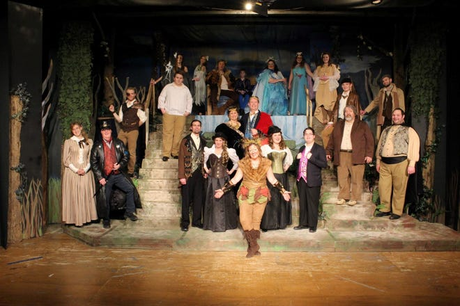 """The cast of """"A Midsummer Night's Dream"""" by the Zane Trace Players at the Renner Theatre. An encore presentation of this previously produced play is being offered for viewing online Jan. 29 to 31."""