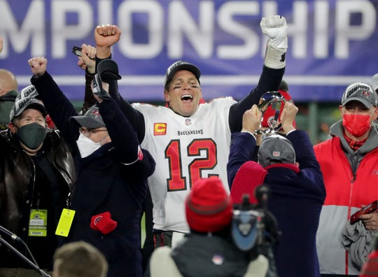 Tom Brady will be making his 10th Super Bowl appearance.