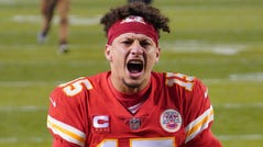 Quarterback Patrick Mahomes and the Chiefs are headed back to the Super Bowl.