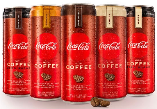 Coca-Cola with Coffee is now available at stores nationwide