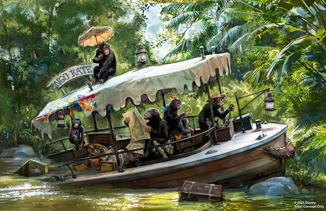 The Jungle Cruise attraction at both Disneyland and Disney World  is getting an update.
