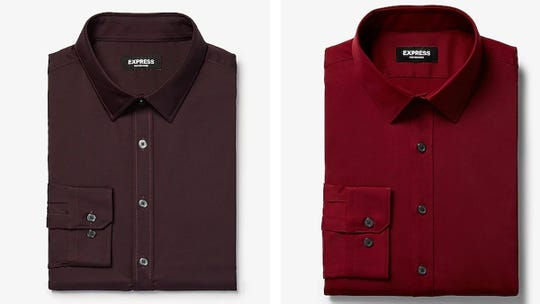 Snag men's button-downs, tees and pants for less.