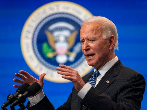 One of Joe Biden's campaign themes was unity, but the new president's administration is already arguing with Republicans on what constitutes unity.