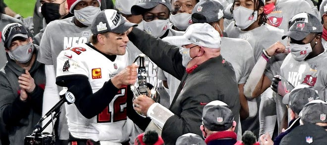 Bruce Arians Says Tom Brady Joined the Buccaneers Because he 'Wanted to Show People' he Could Win a 'Different Way'