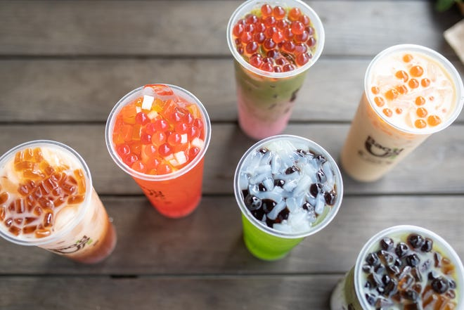 Bubble House is a boba tea brand from Austin-based Chinese chain Bao'd Up.