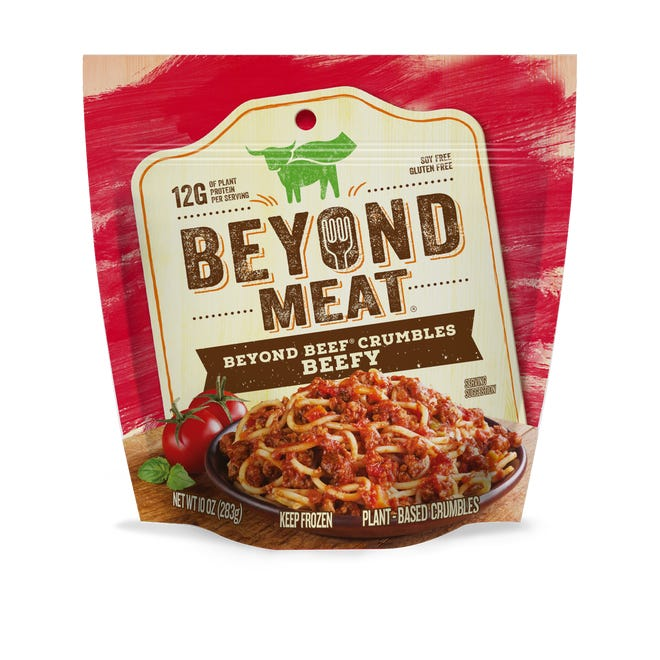 """A proposed Texas law would prevent makers of plant-based alternatives to conventionally produced meat from using terms like """"meat"""" in their labeling. Such laws have been opposed by Beyond Meat and other companies in the budding industry."""