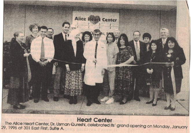 Alice Heart Center first opened in 1996 on 301 East First Street.