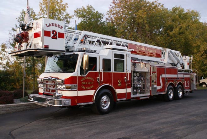 North Augusta's new Fire Station 1 will be located at311 W. Martintown Road and will house the city's ladder trucks.